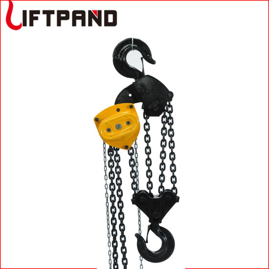 Lifting Equipment Safety Tool Heavy Duty Chain Block 10t