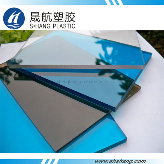 Lexan Bronze Anti-UV Solid Polycarbonate Flat Sheet pictures & photos