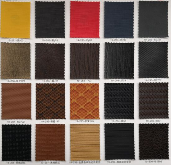 PVC Artificial Leather for Making jewelry Box pictures & photos