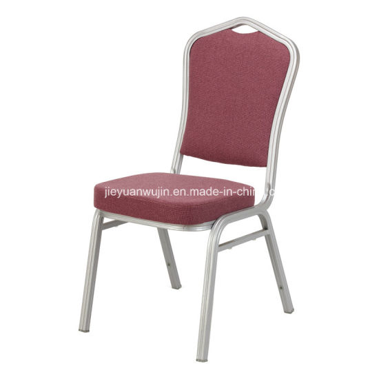Stackable Metal Frame Banquet Chairs (JY B01)
