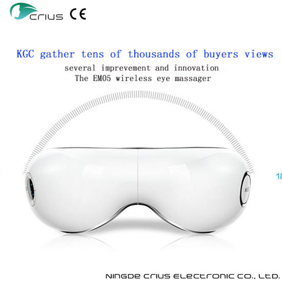 Rechargeable Aire Pressure Eye Massager with MP3 Music Player pictures & photos