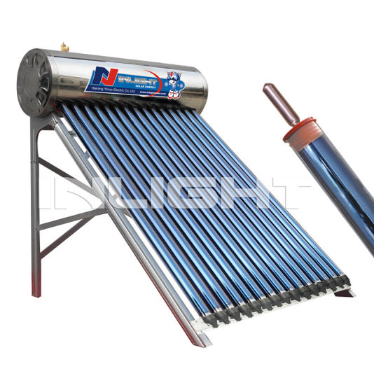 ISO Approved Heat Pipe Solar Hot Water Heater Manufacturer
