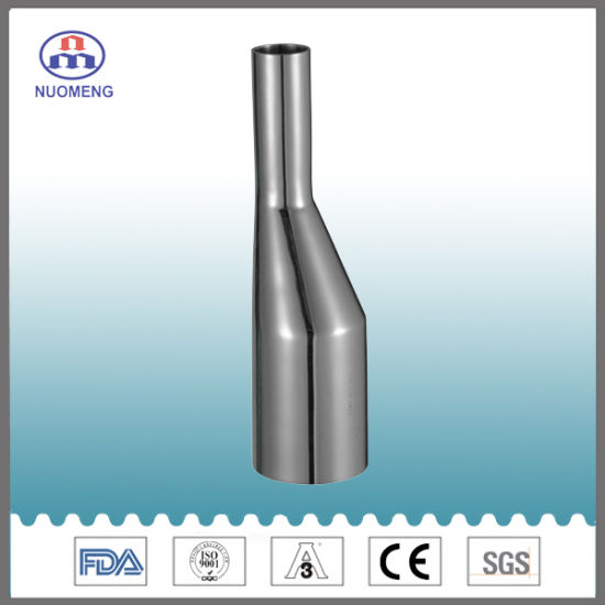 Sanitary Stainless Steel ASME Bpe Eccentric Welded Reducer