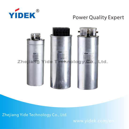 Electronic Cylindrical Low Voltage Power Factor Correction AC Capacitor