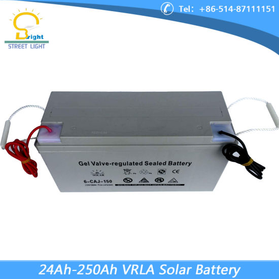 8m 45W-120W Solar Street Lighting with LED Lamp in Somalia pictures & photos