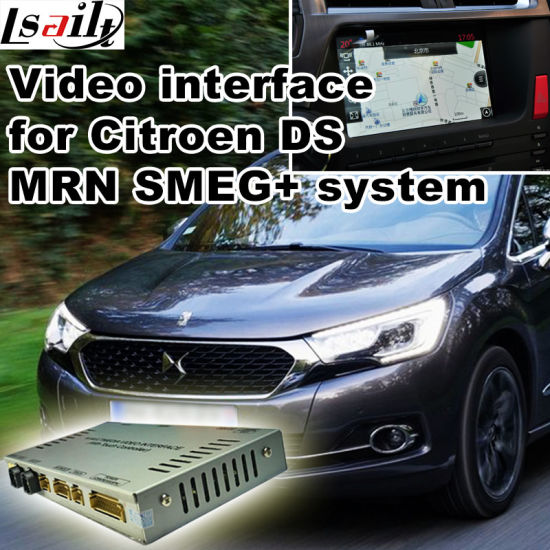 Car Video Interface for Citroen Ds Smeg+ or Mrn System Ds3 Ds4 Ds5 Ds6 etc, Android Navigation Rear and 360 Panorama Optional pictures & photos