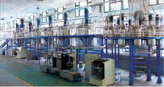 Water Based Latex Paint Production Line