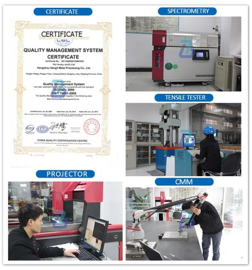 ISO9001 Certifiecated Flame Cutting Processing pictures & photos