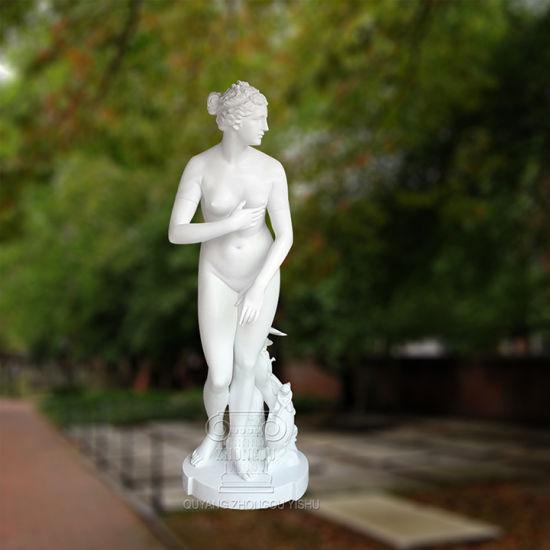 Beautiful Lady or Venus Figure Stone Marble Decoration Statue Sculpture