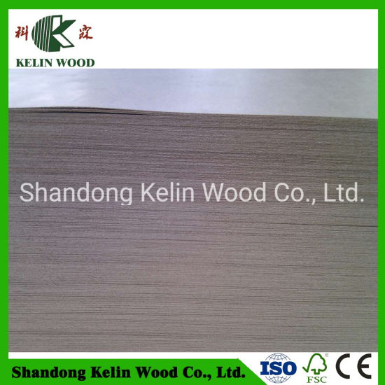 2.5mm Hot Press Wooden Blank Decorative Laminated Plain Hardboard pictures & photos
