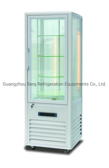 New Product Rotating Upright Cake Bread Pastry Cooling Showcase