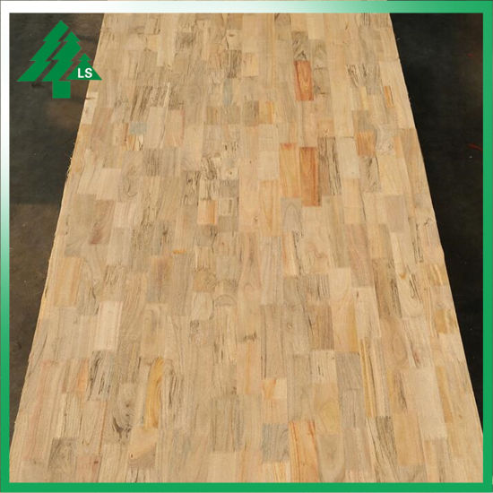 China 4ft 8ft Finger Joint Pine Camphor Wood Veneer Mdf