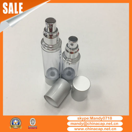 30ml Round Empty Airless Pump Bottle for Perfume Packaging pictures & photos