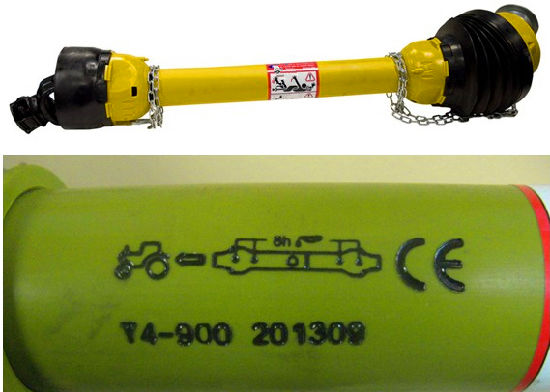 Pto Shaft 05+05 for Agriculture Machinery pictures & photos
