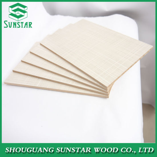 High Glossy/Matt/Embossed/UV/Wood Veneer Faced Melamine Laminated Wholesale MDF Board for Furniture and Decoration