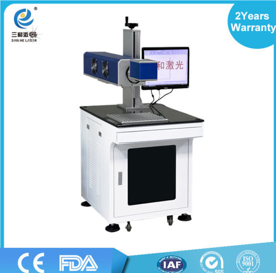 30W CO2 Laser Marking Machine Engraving Qr Code /Wood/ Plastic/Glass Sale pictures & photos