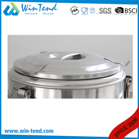 Hot Sale Stainless Steel Economic Type 3 Buckle Portable Insulation Foaming Restaurant Barrel for Transport pictures & photos