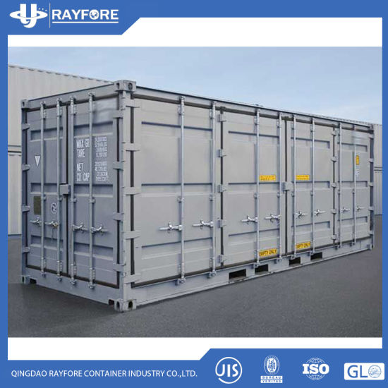 20FT 20gp Full Side Wall Opened Dry Cargo Shipping Container