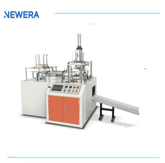 Intelligent Paper Lunch Food Tray Box Carton Erecting Forming Machine