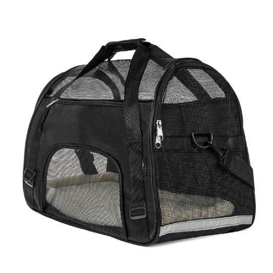 Waterproof 600 D Oxford Pet Carrier, Airline Pet Carrier Bag