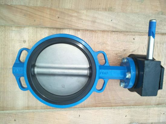 API 6D Wcb Carbon Steel Butterfly Valve Supplier pictures & photos