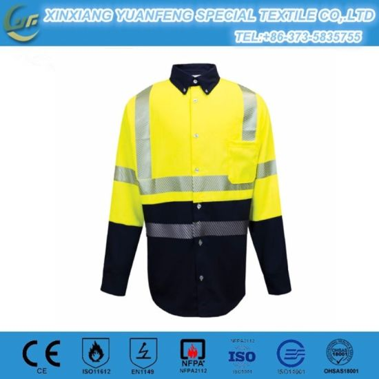c56d977638fe China Flame Retardant 4.5oz Aramid Iiia Protective Clothing - China ...