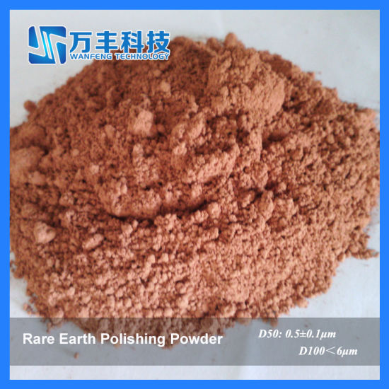 Red Polishing Powder About Particle Size 2.8um pictures & photos