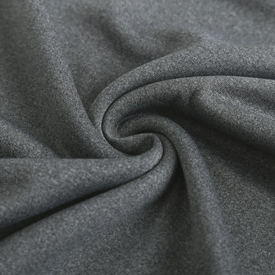 Wicking Good Quality 100% Polyester Cationic Mesh Interlock Knitting Fabric for Sports Wear pictures & photos
