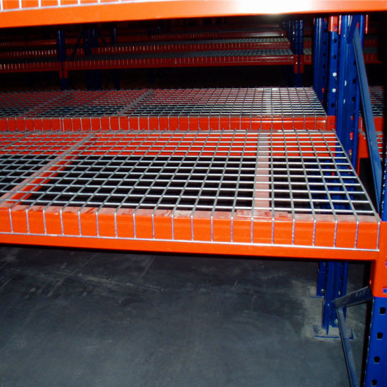 Pallet Rack Wire Mesh Decking | China Powder Painted Wire Mesh Deck For Pallet Rack China Wire