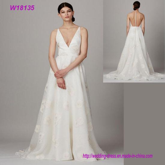 China Wedding Dress Bridal Gown/ Vintage Lace Wedding Dress/ Lace ...