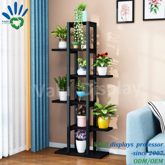 Multi Modern Metal Plant Stand Flower Pot Holder Rack Ornament Shelf Disply Home