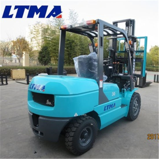 Good Design 3 Ton 3.5 Ton Hydraulic Diesel Forklift Price pictures & photos