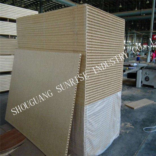 Tubular MDF Hollow Core Chipboard Door Particle Board pictures & photos