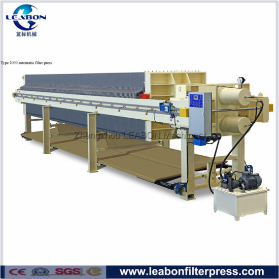 Food Wine High Pressure Hydraulic Compress Chamber Filter Press