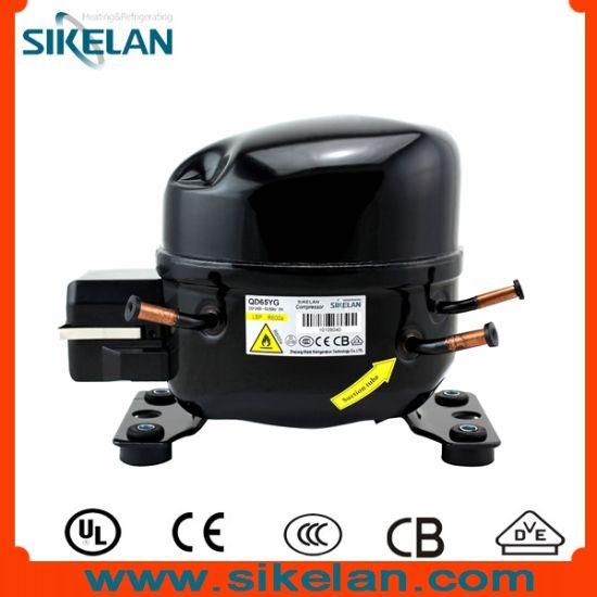Refrigerator Compressor Qd65yg AC Compressor R600A 220V Lbp
