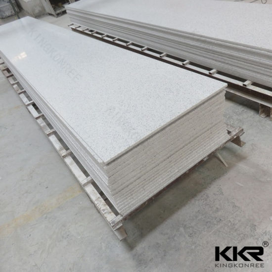China Glacier White Corian Solid Surface For Shower Wall Panel China Solid Surface Sheets Corian Solid Surface