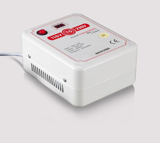 Voltage Converter Household Power Supply Transformer 110V to 220V with Voltage Display