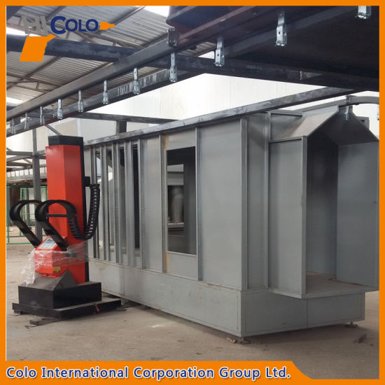 Ecuador Mono Cyclone Powder Coating Booth pictures & photos