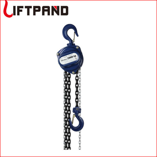 Tiger Type Heavy Duty Industrial Ce & GS Manual Chain Block
