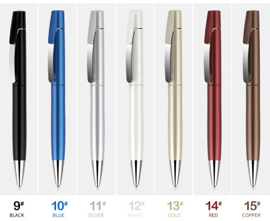 Wholesale in Stock Free Samples Promotional Bulk Ballpoint Pens with  Company Names