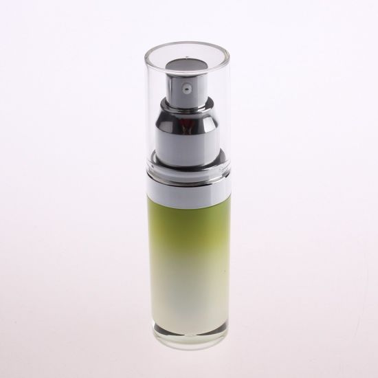 30ml, 50ml Round Empty Cosmetic Acrylic Fancy Lotion Bottles
