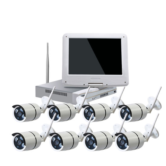 HD 720p Wireless WiFi CCTV Home Surveillance System Kits with 8PCS IR Waterproof IP Camera Especially Suitable for Office Home Security Install pictures & photos