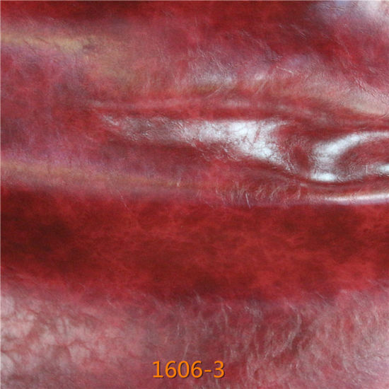 New Model of Oily CPU Microfiber Leather for Furniture Upholstery pictures & photos