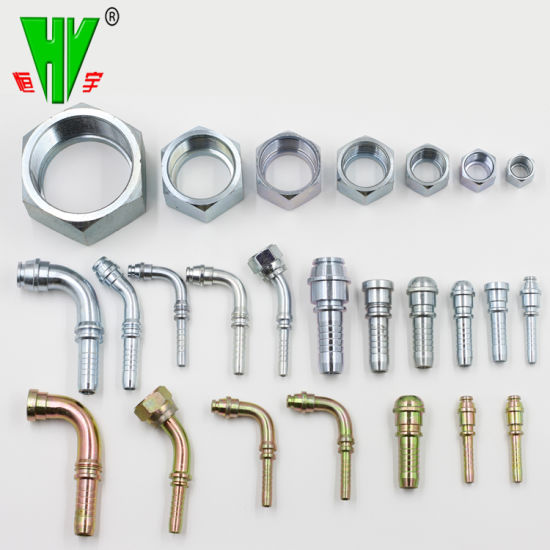China Hydraulic Fittings Online Sell Crimp BSPP Hydraulic