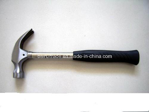 High Quality 16oz Claw Hammer with Steel Tube Handle pictures & photos