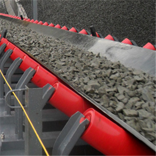 Long Distance Mining Machine Fixed Belt Conveyor System Gravity Roller Belt Conveyor System