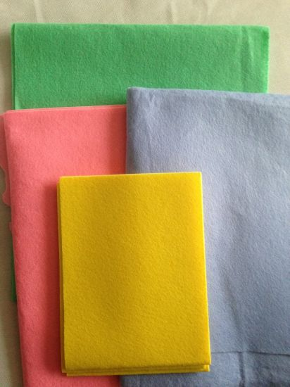 Various Color Needle Punch Nonwoven for Cleaning, Wiper