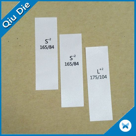 2016 Fashionable Low Price Washing Care Labels for Apparel pictures & photos