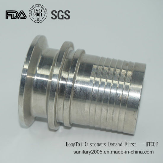 Stainless Steel Sanitary Hydraulic Adapter