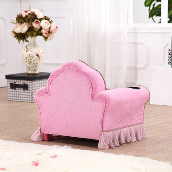 Girl Baby′s Skirted Arm Chairs/Children Furniture pictures & photos
